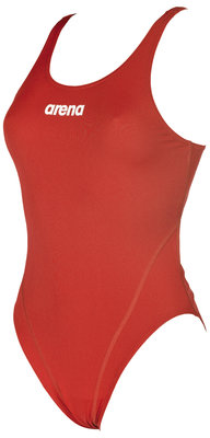 Arena W Solid Swim Tech High red/white 36