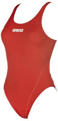 Arena W Solid Swim Tech High red/white 40