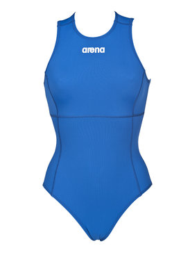 Arena W Solid Waterpolo One Piece royal/white 36