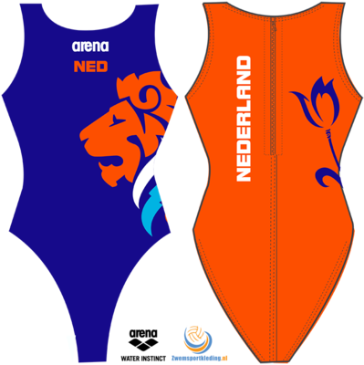 Arena WP W One Piece Replica Dutch Fed allover 26