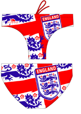 Exclusive Turbo waterpolo broek England Shield FR90 | D6 | XL