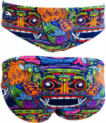 *Outlet* Exclusive Turbo waterpolo broek Bali Tribal: kindermaat 116