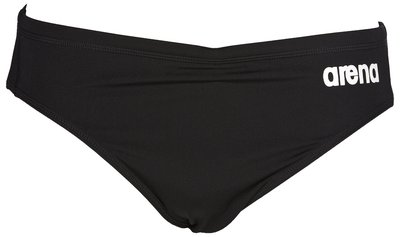 *Outlet* Arena M Solid Brief black/white 110