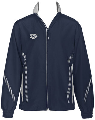 Arena Jr Tl Warm Up Jacket navy/grey 1011Y