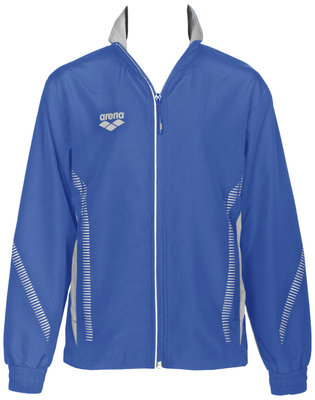 Arena Jr Tl Warm Up Jacket royal/grey 8-9Y