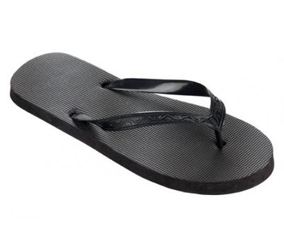 *OUTLET* Beco teenslippers zwart maat 42-43