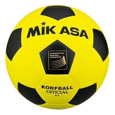 Korfbal Mikasa K4 geel - zwart