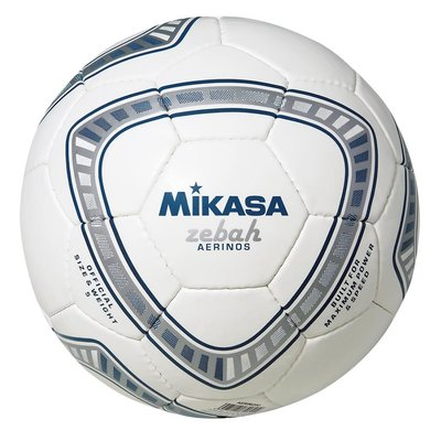 Voetbal Mikasa Zebah Aerinos Blauw - Wit