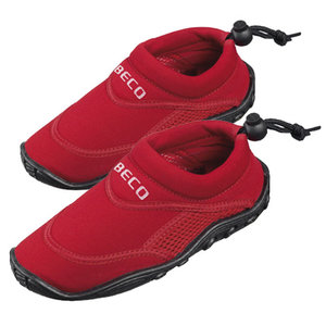 *OUTLET* BECO Kinder neopreen surf- en zwemschoen, rood, maat 24