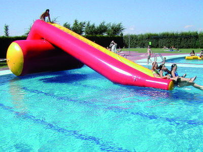 Epsan water slide, 6,00x1,60x2,00 m