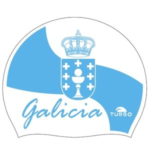 *Special Made* Turbo Silicone Badmuts  GALICIA FLAG 2019