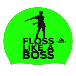*Special Made* Turbo Silicone Badmuts FLOSS LIKE A BOSS green