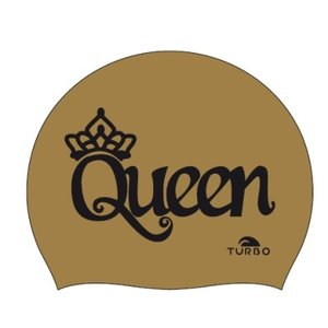 *Special Made* Turbo Silicone Badmuts QUEEN GOLD