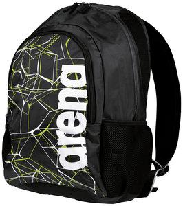 Actie gratis bidon Arena zwemtas Water Spiky 2 Backpack black