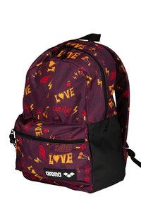 Actie gratis bidon Arena zwemtas Team Backpack 30 Allover love