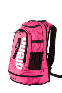 Actie gratis bidon Arena zwemtas Fastpack 2.2 pink-melange