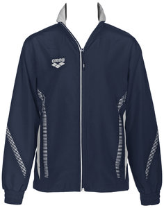 Arena Jr Tl Warm Up Jacket navy/grey 1415Y