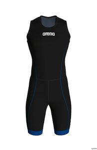 Arena M Trisuit St 2.0 Rear Zip black-royal S
