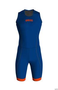 Arena M Trisuit St 2.0 Rear Zip royal-orange XL