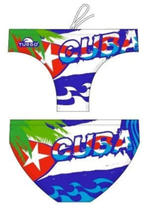 *gratis minipolobal* Turbo waterpolo broek Che Cuba maat S   D3   FR75 op=op