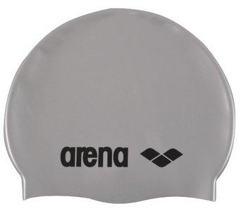 opruiming *showmodel* Arena badmuts classic silicone silver-black op=op