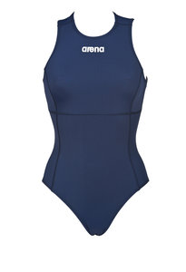 Opruiming Showmodel M (D36=FR38) Arena W Solid Waterpolo One Piece navy/white 38
