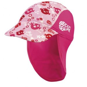 opruiming showmodel BECO Sealife zonnehoed, SPF 50+, maat 1, roze op=op