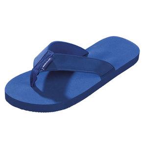Opruiming showmode BECO Teenslipper, uni-sex, textiel bandage, eva, donker blauw, maat 46 op=op