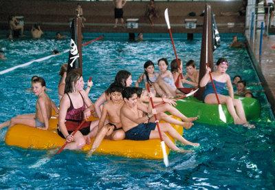Epsan pirate raft, 2,00x1,00x0,30 m