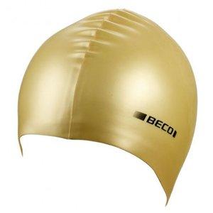 BECO Silicone badmuts metalic, goud metalic