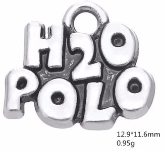 H2O Polo hanger Antique Silver Plated