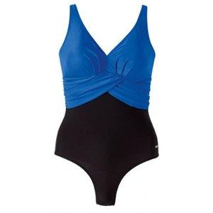 Badpak D Cup.Beco Badpak D Cup Zwart Blauw Fr40 D38 L Zwemsportkleding Nl